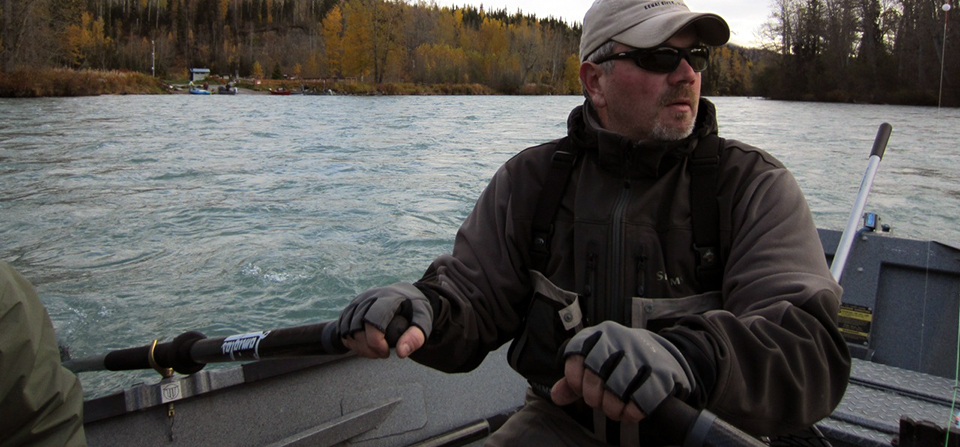 Slide: Ed Rowing – Alaska Salmon Fishing Summer